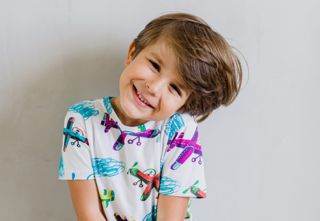 roupa moderna diferente infantil